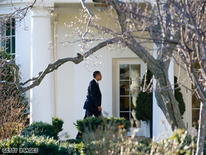 Obama met with his economic advisers Saturday.