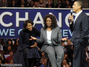 Illinois Gov. Rod Blagojevich said Monday that he considered Oprah Winfrey to replace President Barack Obama in the U.S. Senate.
