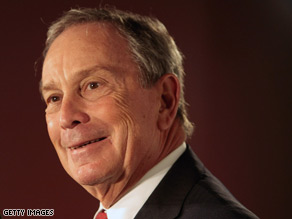 Bloomberg gets good numbers in a new poll.