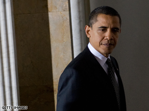 Obama is pressing members of Congress to vote for the stimulus bill