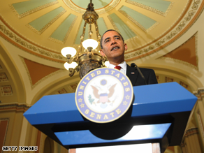 Obama met with House and Senate Republicans Tuesday.