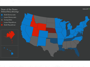 A new analysis shows few &#039;Red States&#039; remain.