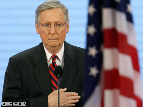 Republicans are losing faith in GOP congressional leaders like Mitch McConnell.