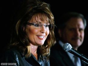 Palin is heading to Washington this weekend.