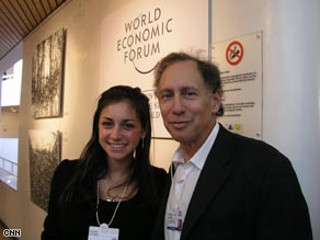 MIT Professor Robert Langer and daughter Susan.