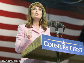 Gov. Sarah Palin advocated for responsible petroleum development while on the Republican presidential ticket with Arizona Sen. John McCain.