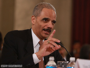 Eric Holder will become the country's first African-American Attorney General once he's sworn in after being confirmed by the Senate Monday.