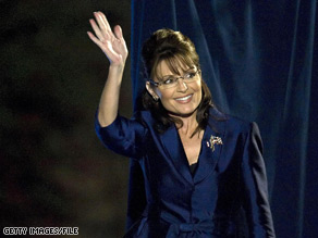 Sarah Palin is weighing in on a high-profile Republican primary race, endorsing Texas governor Rick Perry in his 2010 re-election bid over his potential challenger, Sen. Kay Bailey Hutchison.