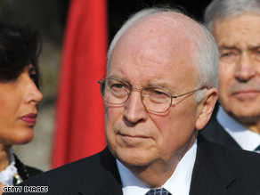Cheney is writing a book.