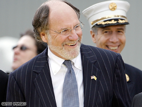 Corzine is behind in a new poll.