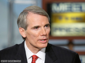 A new poll out Wednesday suggests Republican Rob Portman may face an uphill battle in a 2010 Ohio Senate race.