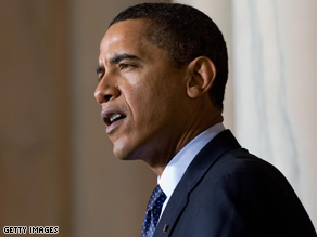 Obama has told lawmakers he expects the stimulus to pass this week.