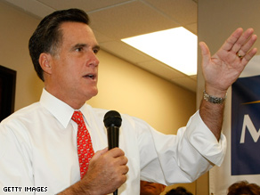 Romney is a possible 2012 contender.