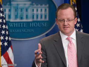 Robert Gibbs said Monday that President Obama actually did very little preparation to get ready for his first prime-time news conference in the East Room.