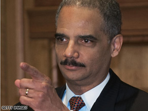Holder did not indicate when and how the United States would release or criminally charge detainees on U.S. soil.