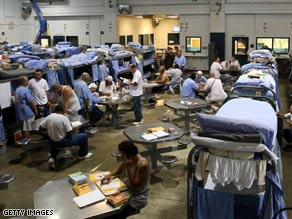 Releasing prison inmates to save tax dollars?