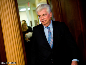 Dodd may face a tough fight to keep his Senate seat in 2010.