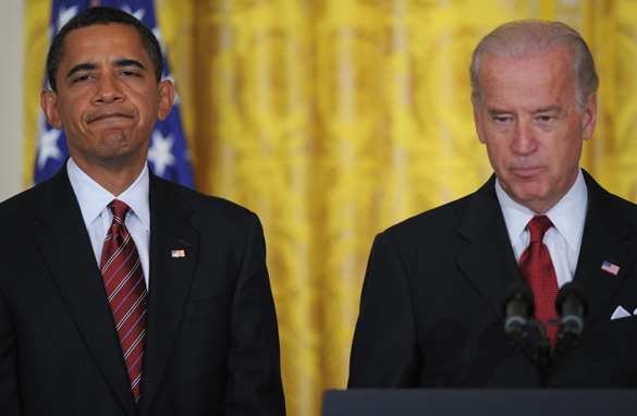 V.P. Biden an embarrassment for prez?