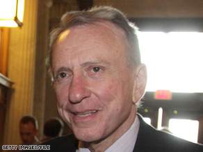 Sen. Arlen Specter had already begun releasing campaign ads targeting Pat Toomey before the former congressman made his announcement official.