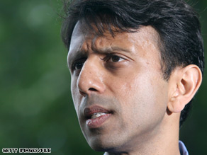 Bobby Jindal a former congressman and first term governor, was widely believed to be on then-Republican presidential nominee John McCain's shortlist for vice president.