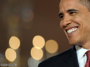Obama is praising news of a deal on the stimulus bill.