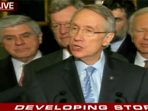 Senate Majority Leader Harry Reid announced Wednesday a House-Senate deal has been reached on the stimulus.