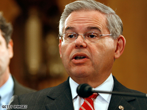 Menendez is chairman of the DSCC.