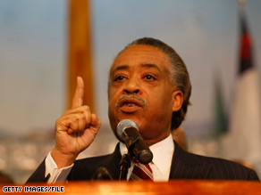 Al Sharpton took issue Wednesday with a cartoon published in the New York Post. 