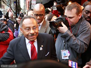 A spokesman for Illinois Democratic Sen. Roland Burris has resigned.
