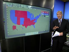 Obama has traveled to key swing states in the last few weeks.