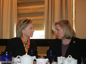 Sen. Gillibrand announced Monday that former Pres. Bill Clinton will appear at a fundraiser next month for her 2010 re-election bid.  Gillibrand replaced Hillary Clinton in the Senate.