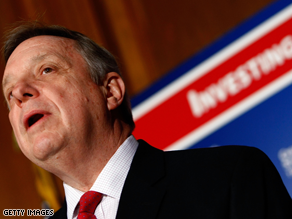 Durbin wants Burris to resign.