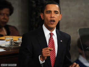 President Barack Obama on Tuesday called for all Americans to commit to at least one year of higher education or career training.