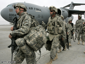 A majority of Americans support increasing troop levels in Afghanistan.