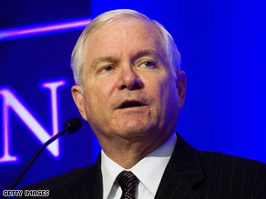 Robert Gates announced the new policy Thursday.
