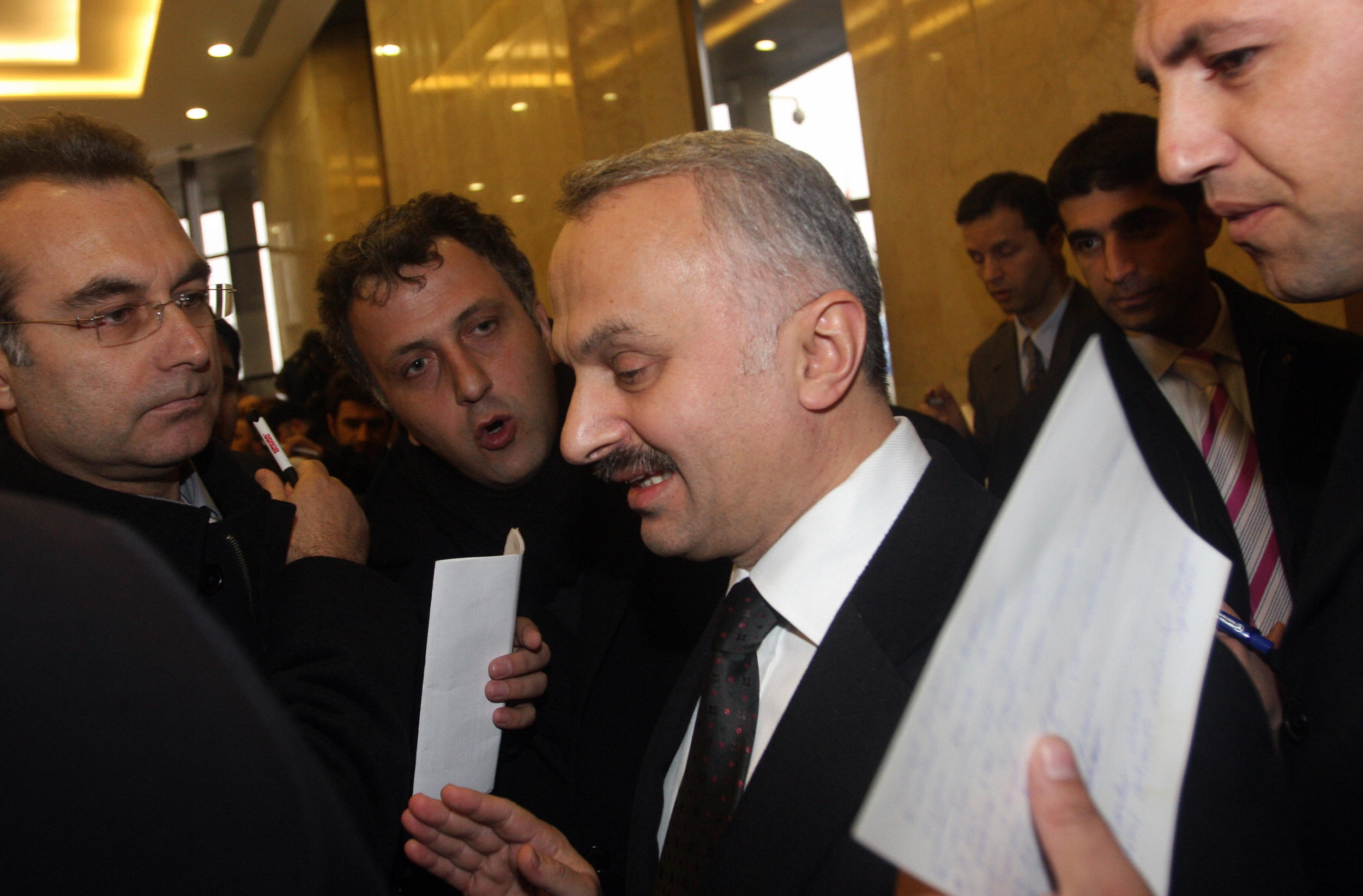 BULENT KILIC/AFP/Getty Images. Turkish Airlines Chief Executive Officer Temel Kotil.