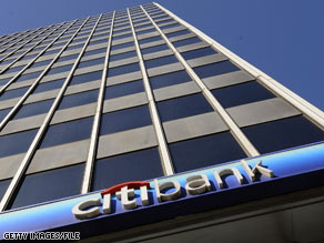 The government's stake in Citigroup is increasing.