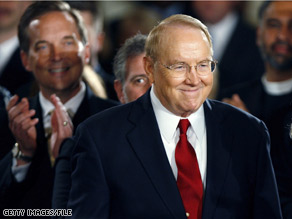 Focus on the Family announced Friday that James Dobson has stepped down from his position as chairman of the group&#039;s board.