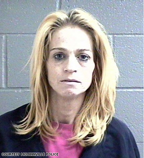 Tracy Duncan, 38, was arrested with her husband.