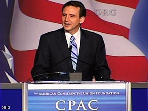 Gov. Tim Pawlenty says the GOP must stress its commitment to job creation.