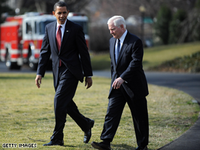 President Obama is more analytical than his predecessor, Defense Secretary Robert Gates said Sunday.