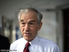 A Missouri official apologized to Rep. Ron Paul for a report linking him to a militia group.