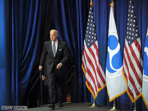 Vice President Biden is headed overseas next week.