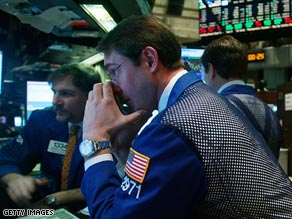 New York traders still on the floor Tuesday.