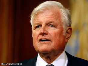 Sen. Edward Kennedy is back on Capitol Hill for two weeks.