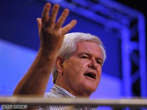 Gingrich is mulling a White House bid in 2012.