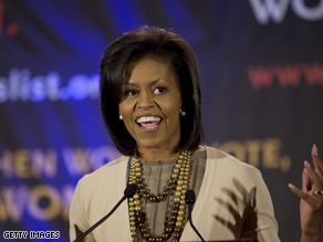 Does Michelle Obama have a future in politics?