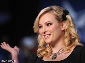 Meghan McCain takes aim at Ann Coulter in a new blog post.