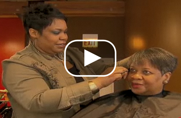 Jennifer Jackson opened her own salon after being laid-off from a corporate job.