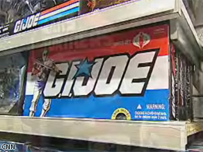 Hasbro is launching new toys for this summer's G.I. Joe movie.